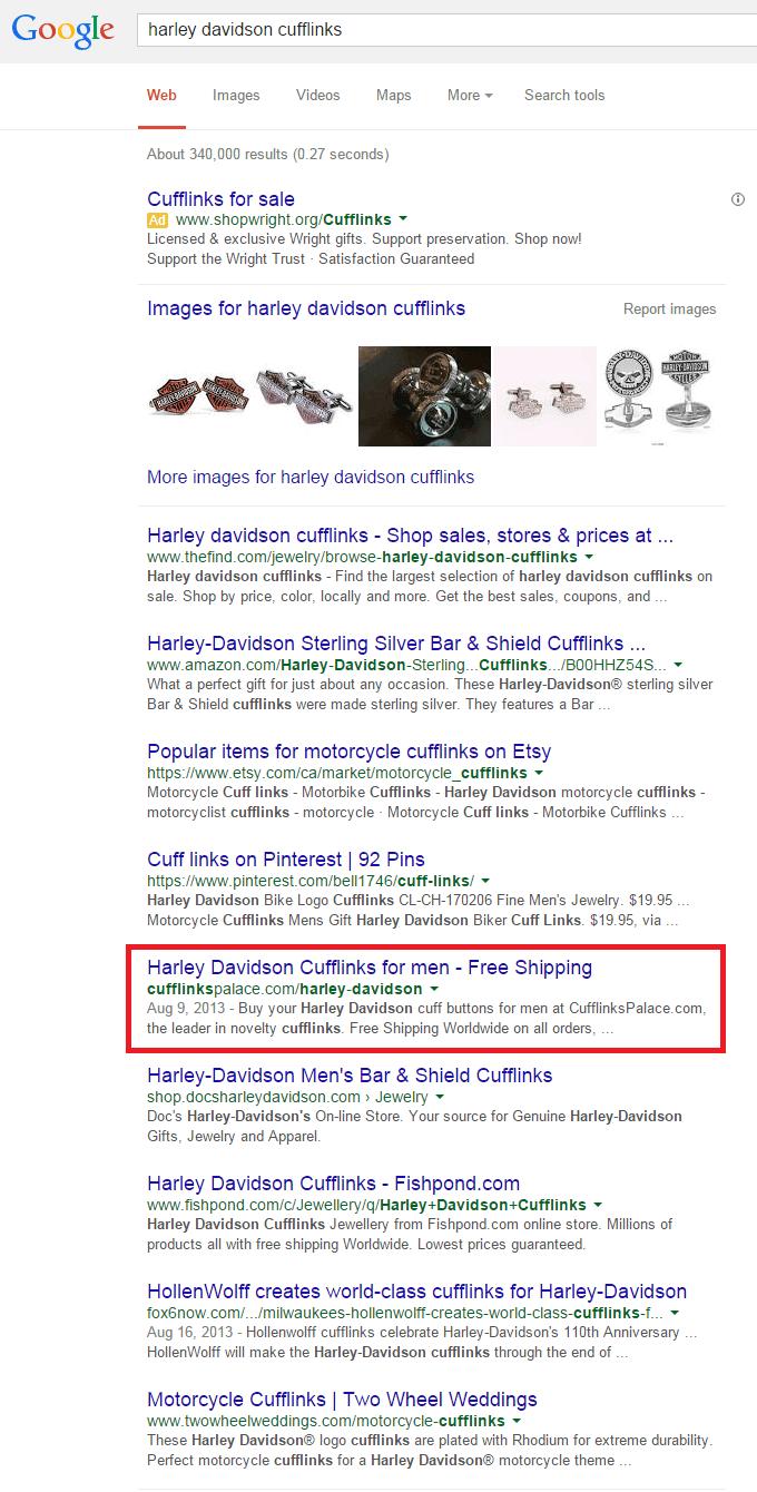 recherche google harley davidson cufflinks