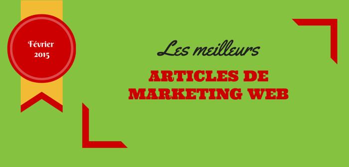Pierre-Antoine Levesque : les meilleurs articles marketing web de février 2015