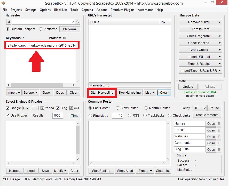 Scrapebox : Outil utile pour référencer un site internet