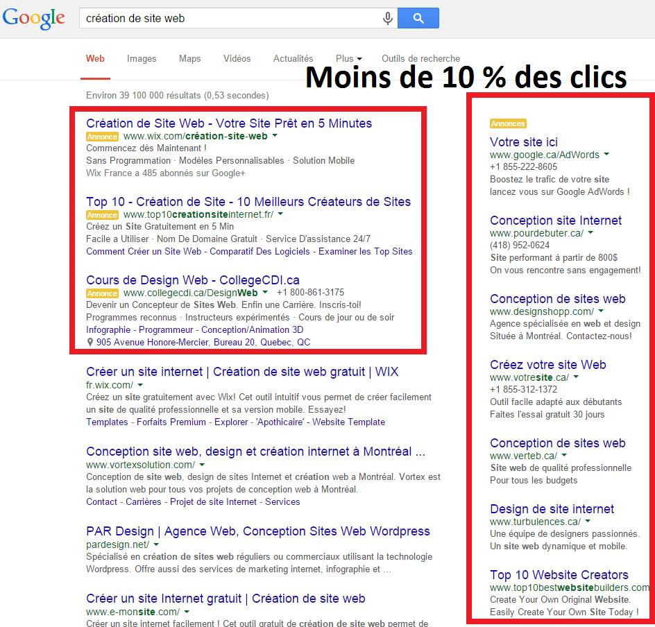 Favori ✅ La première page de Google en statistique - P-A Levesque EC55