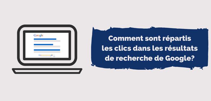 Pierre-Antoine Levesque : répartition des clics sur la page 1 de google