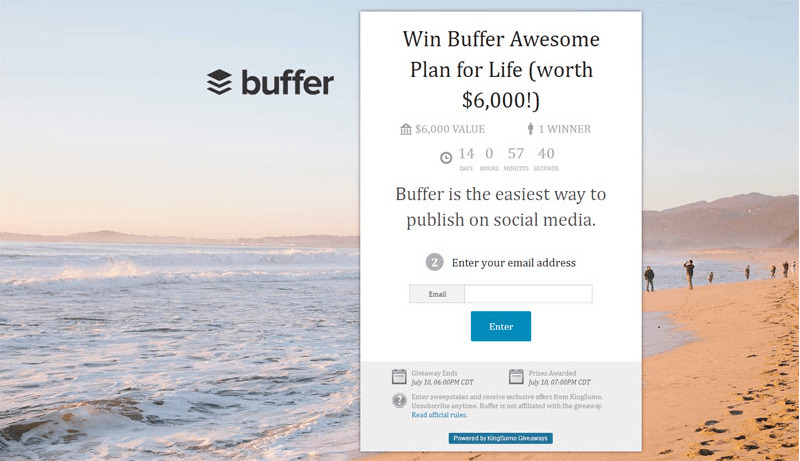 Faire connaitre son site web avec un concours viral avec cette extension pour wordpress