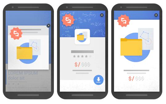 pénalité Google pop-up et interstitiel mobile