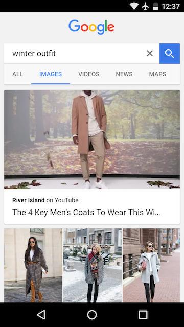 video dans google image